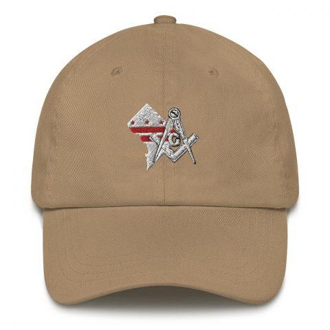 Washington DC Masonic Hat Embroidery mockup e33d46cf