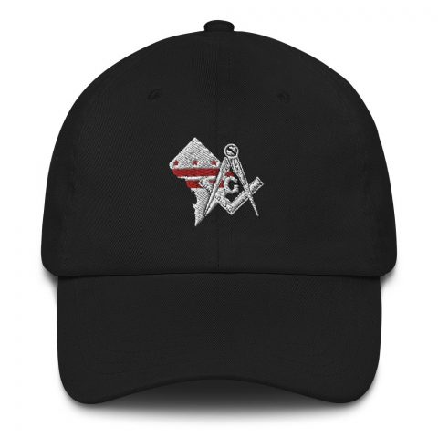 Washington DC Masonic Hat Embroidery mockup f44f0573