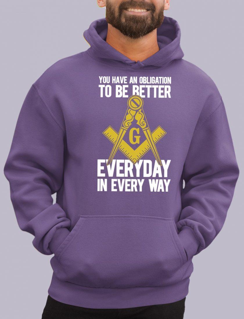 obligation purple hoodie