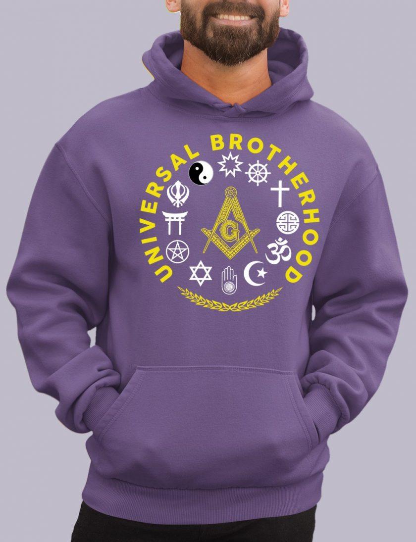 universal purple hoodie
