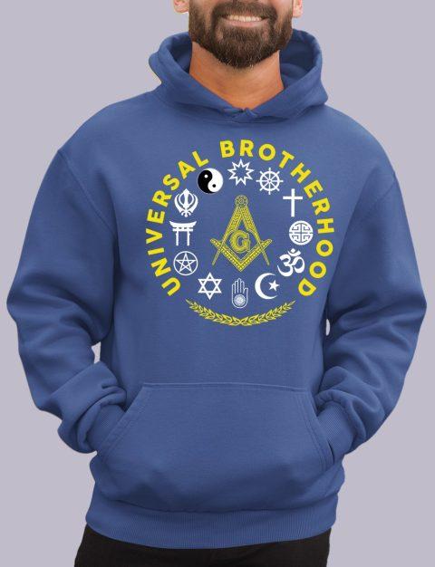Universal Brotherhood Masonic Hoodie universal royal hoodie