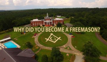 Why did you become a Freemason?