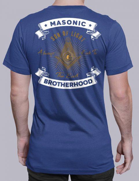 Masonic Brotherhood T-Shirt Masonic Brotherhood royal shirt back 7