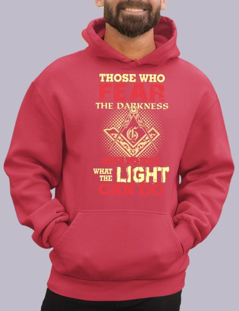 Light Can Do Hoodie light can do red hoodie