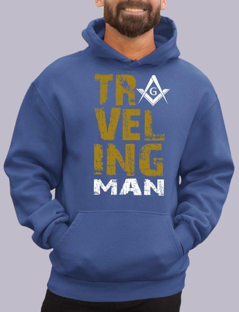 Traveling Man Masonic Hoodie New travel man royal hoodie