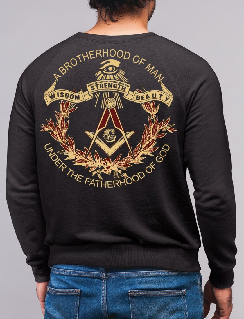 Brotherhood of man black sweatshirt