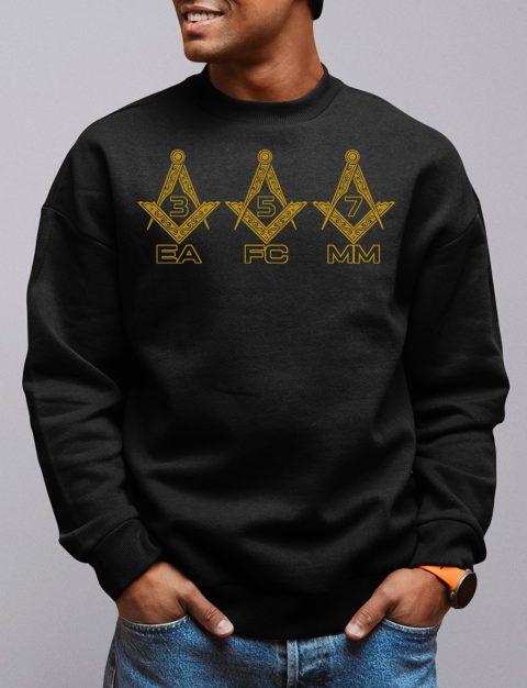 EA FC MM Masonic Sweatshirt ea fc mm black sweatshirt