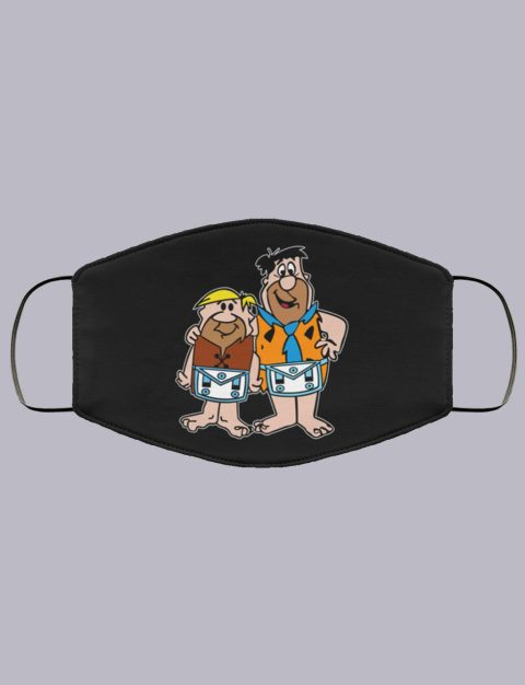 Fred and Barney Masonic Face Mask fred and burney masonic face mask