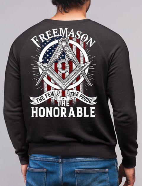 The Honorable Masonic Sweatshirt honorable black sweatshirt