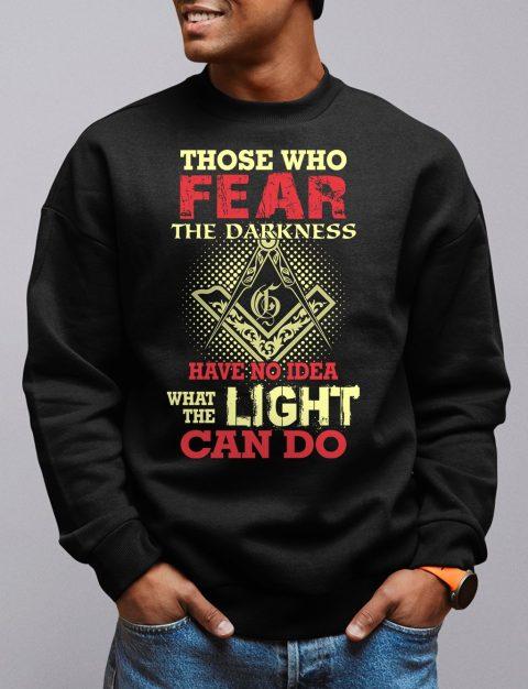 Light Can Do Sweatshirt light can do black sweatshirt
