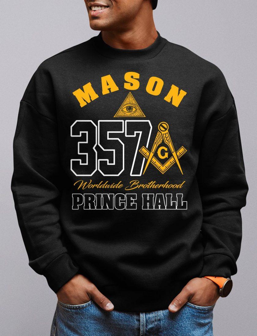 mason 357 black sweatshirt