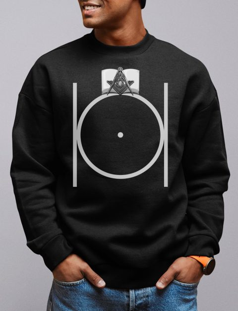 Masonic Emblem Sweatshirt masonic 1 black sweatshirt