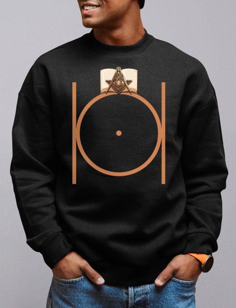 Masonic Freemason Sweatshirt masonic 2 black sweatshirt