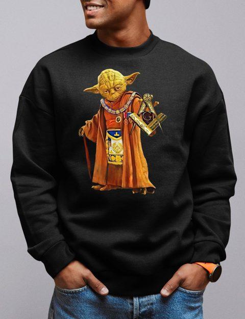Master Yoda Freemason Sweatshirt master yoda black sweatshirt