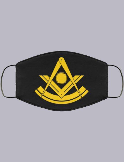 Past Master Freemason Masonic Face Mask past master2