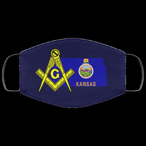 Kansas Masonic Face Mask redirect 101