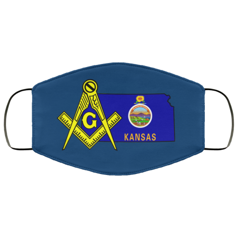 Kansas Masonic Face Mask redirect 103