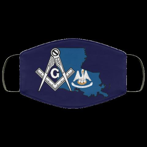 Louisiana Masonic Face Mask redirect 125