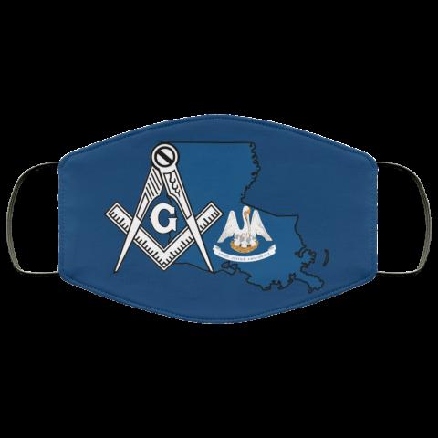 Louisiana Masonic Face Mask redirect 127