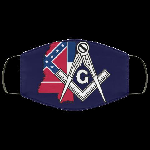 Mississippi Masonic Face Mask redirect 129