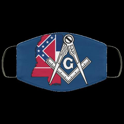 Mississippi Masonic Face Mask redirect 131