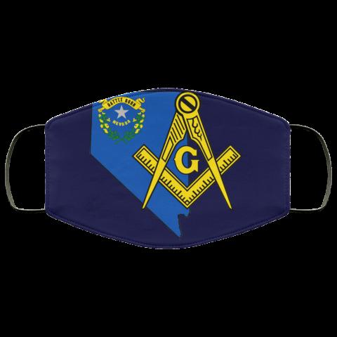 Nevada Masonic Face Mask redirect 149