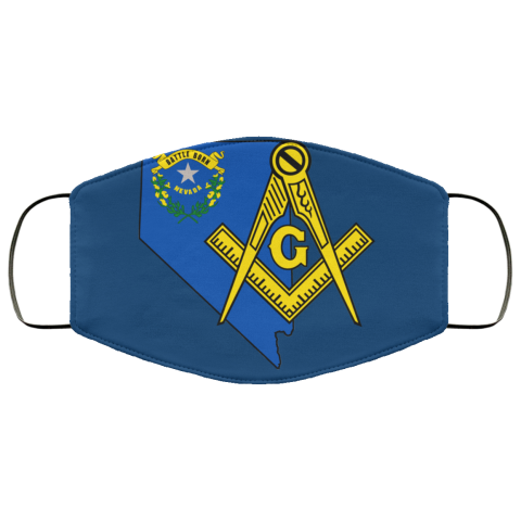 Nevada Masonic Face Mask redirect 151