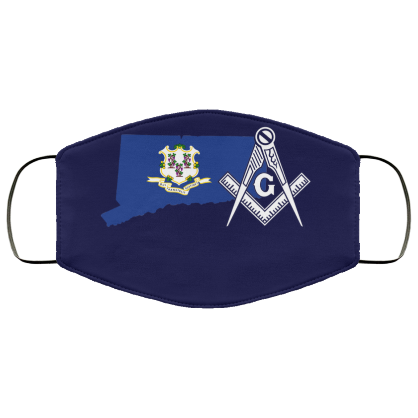 Connecticut Masonic Face Mask redirect 157