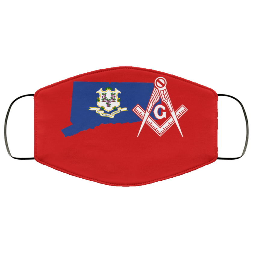 Connecticut Masonic Face Mask redirect 158