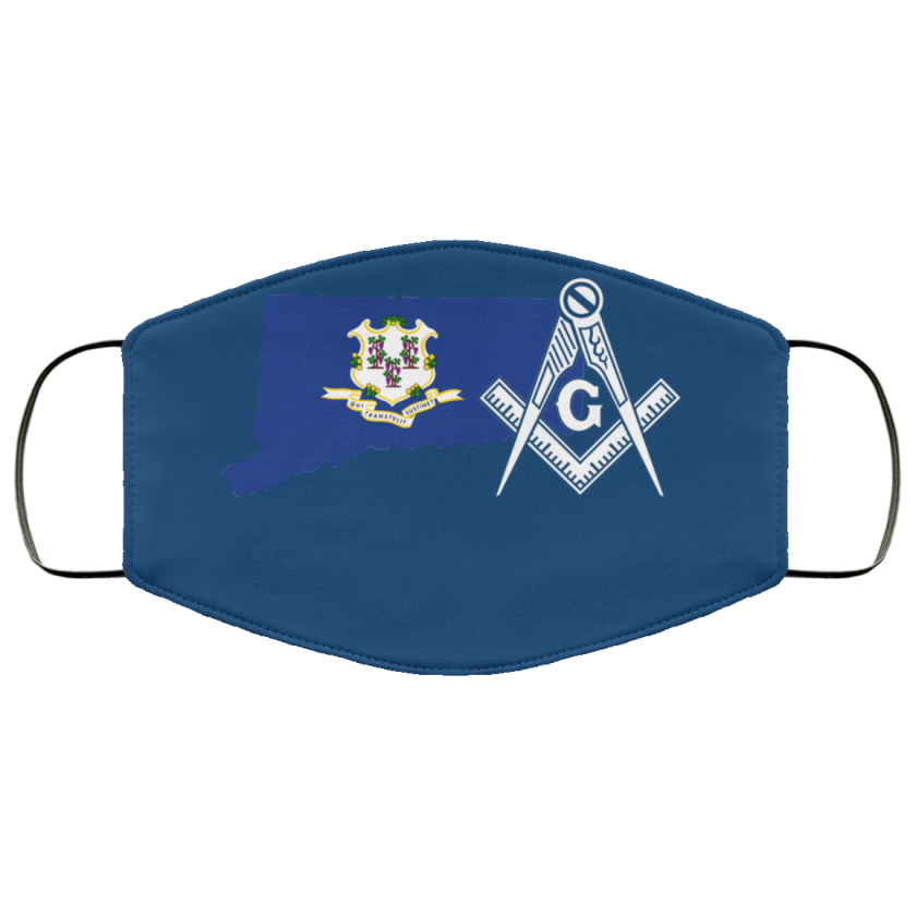 Connecticut Masonic Face Mask redirect 159