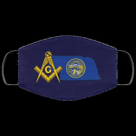 Nebraska Masonic Face Mask redirect 161