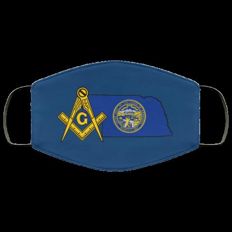 Nebraska Masonic Face Mask redirect 163