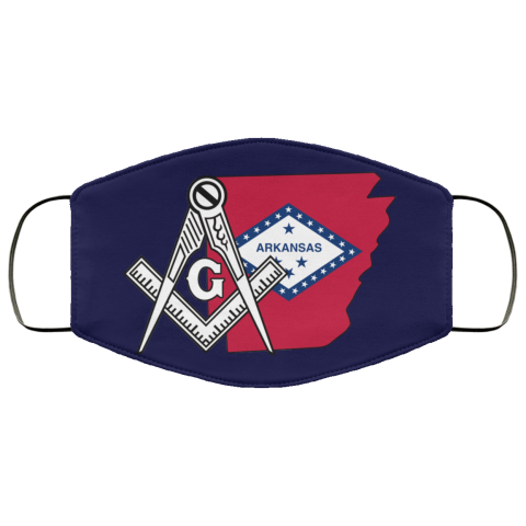 Arkansas Masonic Face Mask redirect 165