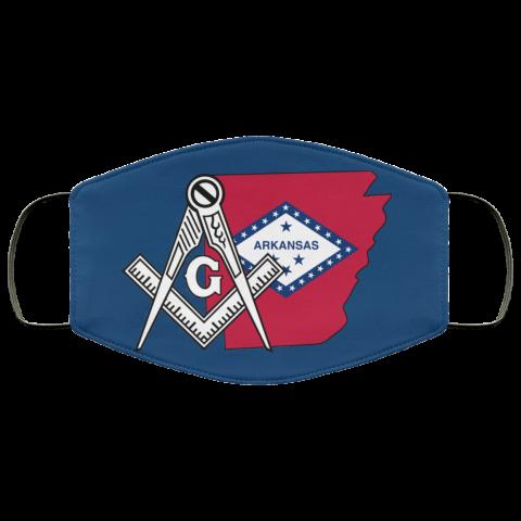 Arkansas Masonic Face Mask redirect 167