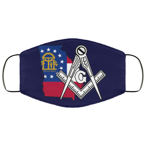 Georgia Masonic Face Mask redirect 169