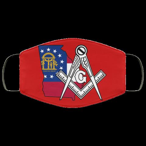 Georgia Masonic Face Mask redirect 170