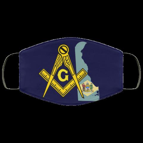 Delaware Masonic Face Mask redirect 173