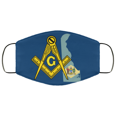 Delaware Masonic Face Mask redirect 175