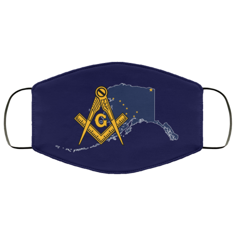 Alaska Masonic Face Mask redirect 177