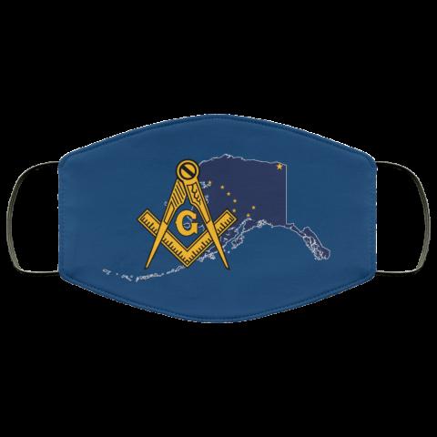 Alaska Masonic Face Mask redirect 179