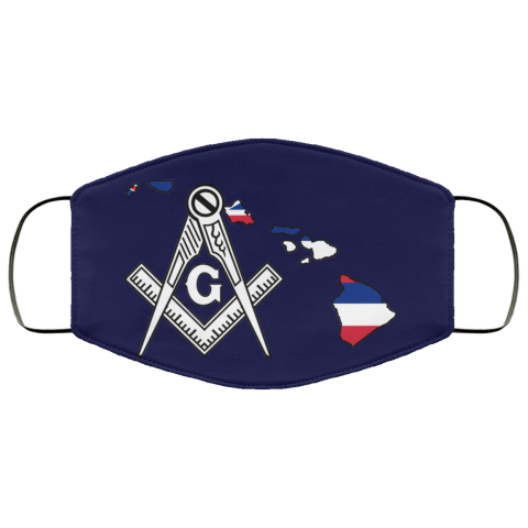 Havaii Masonic Face Mask redirect 185