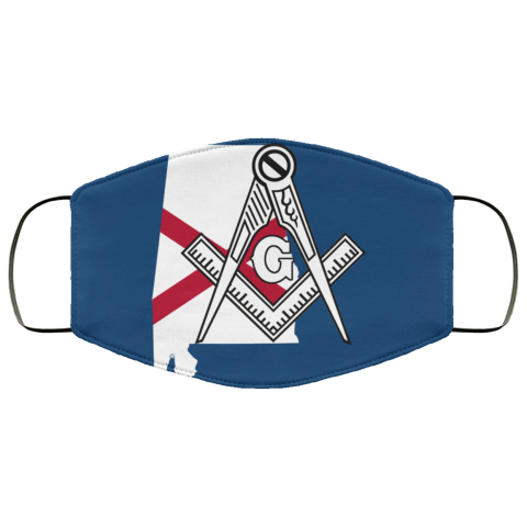 Alabama Masonic Face Mask redirect 195