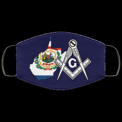 West Virginia Masonic Face Mask redirect 21