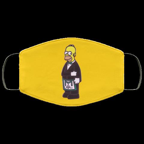 Simpsons Masonic Face Mask redirect 228