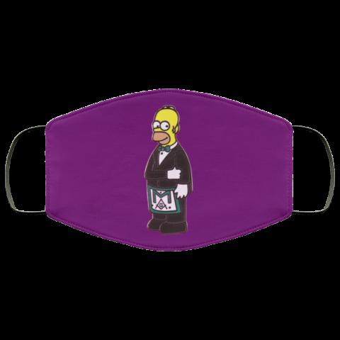 Simpsons Masonic Face Mask redirect 231