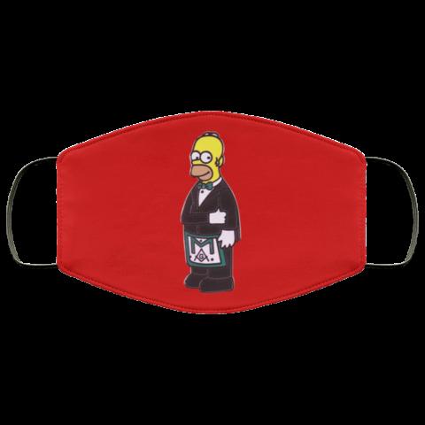 Simpsons Masonic Face Mask redirect 232