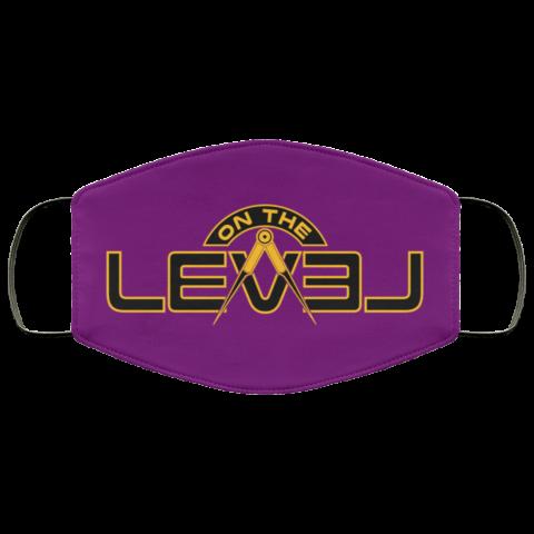 On The Level Freemason Masonic Face Mask redirect 255