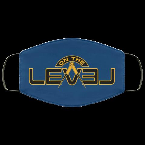 On The Level Freemason Masonic Face Mask redirect 257