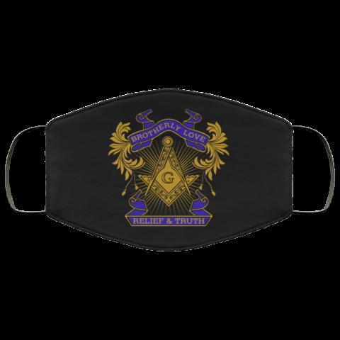 Brotherly Love Masonic Face Mask redirect 311