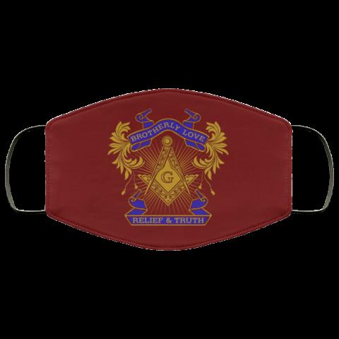 Brotherly Love Masonic Face Mask redirect 313